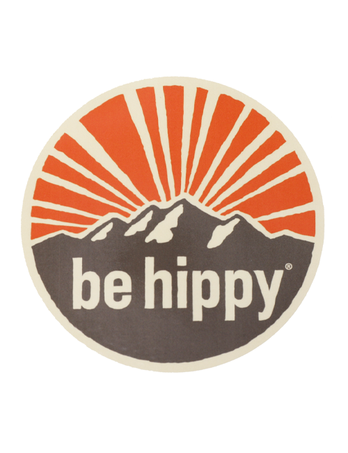 BE HIPPY is a movement to inspire people to live an adventurous and happy life! That could be experiencing a beautiful sunrise over the mountains, finding solitude fishing on a great river or taking off on a Wednesday to ski a powder day.